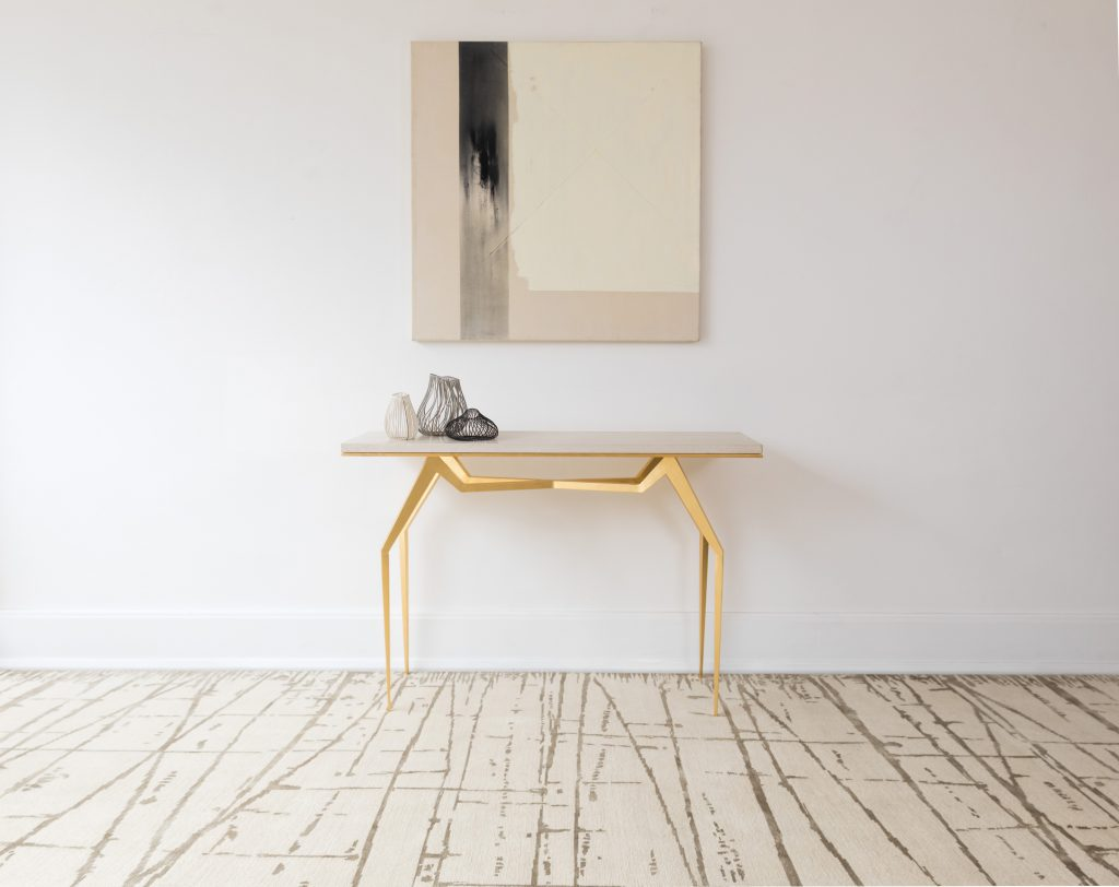 Adams Williams Design Fortis Console in collaboration with Stark Carpet